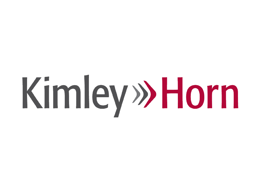 Logo of a civl engineering firm, Kimley-Horn, a BUILT National national member firm