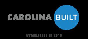 Carolina BUILT logo established in 2018