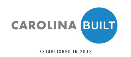 Carolina BUILT logo established in 2018