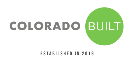 Colorado BUILT Logo established in 2019