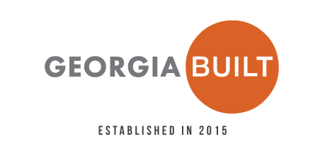 Georgia BUILT logo with established in 2015