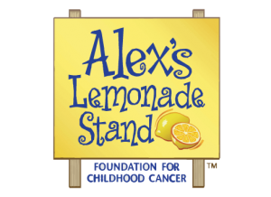 Logo of the charity Alex's Lemonade Stand Foundation for Childhood Cancer