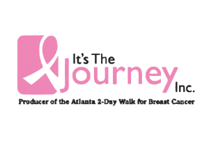 Logo for Its The Journey charity, Producer of the Atlanta 2-Day Walk for Breast Cancer