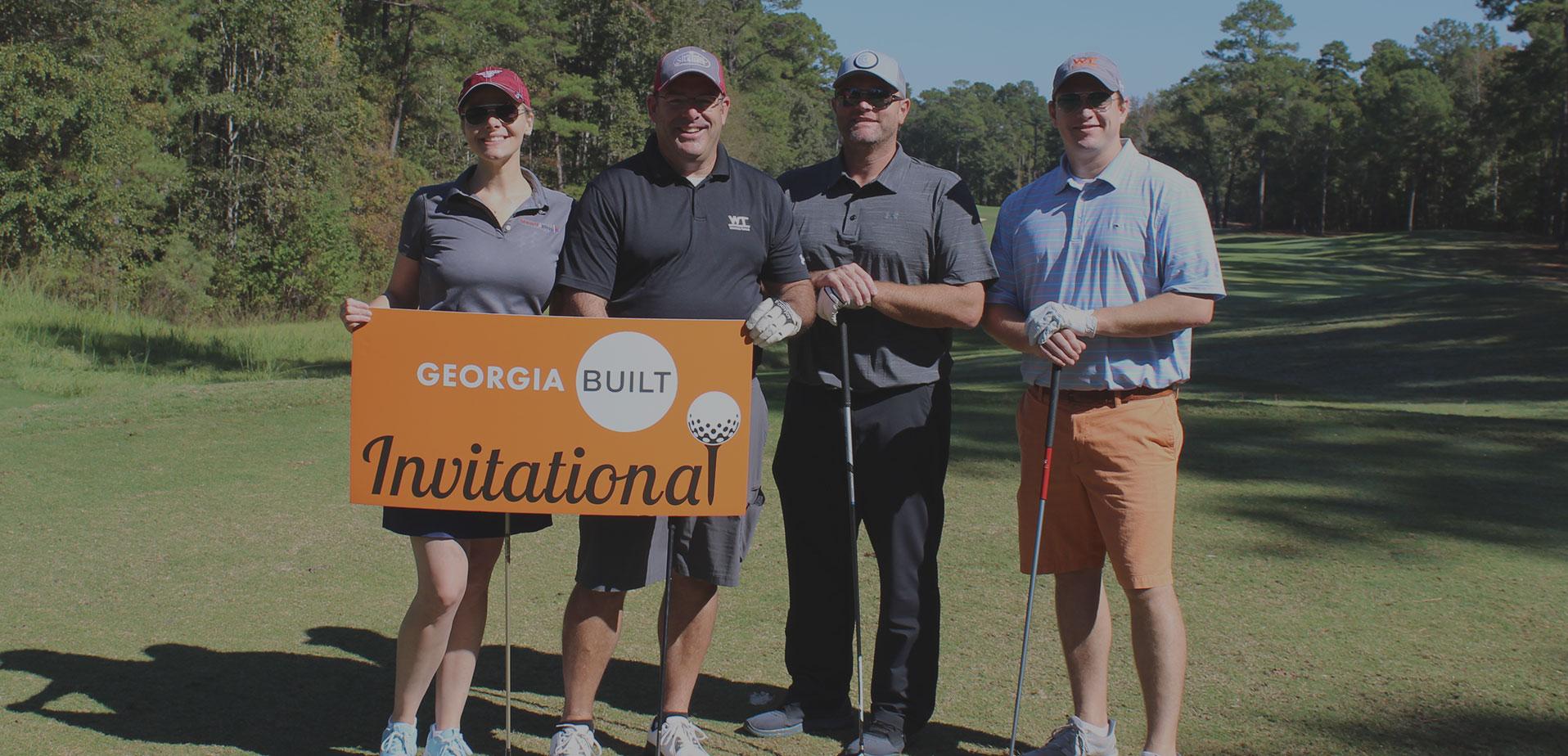 Members of Georgia BUILT in the 2019 Invitational
